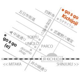 吉祥寺店マップ